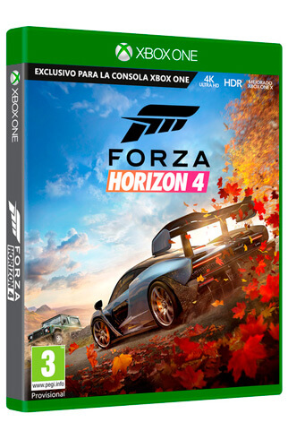 juego forza 4 horizon xbox one
