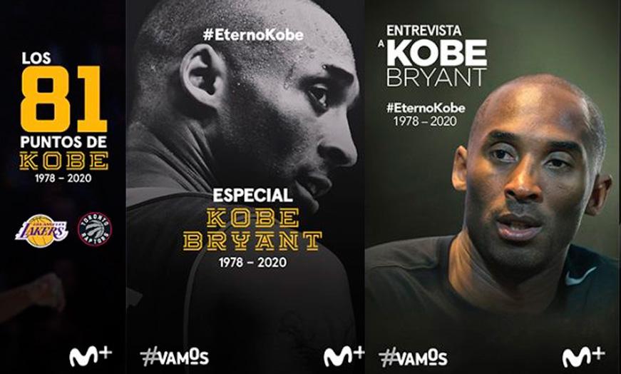 Especial Kobe Bryant en Movistar - SportsonMedia