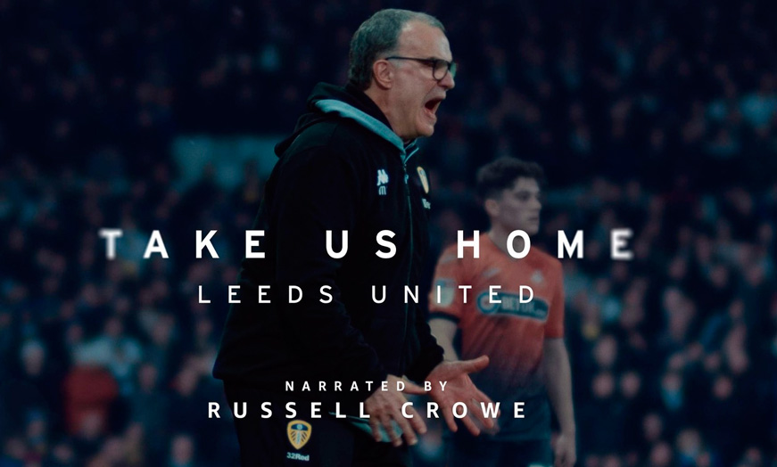Take us Home: Leeds United FC en Amazon Prime Video - SportsonMedia