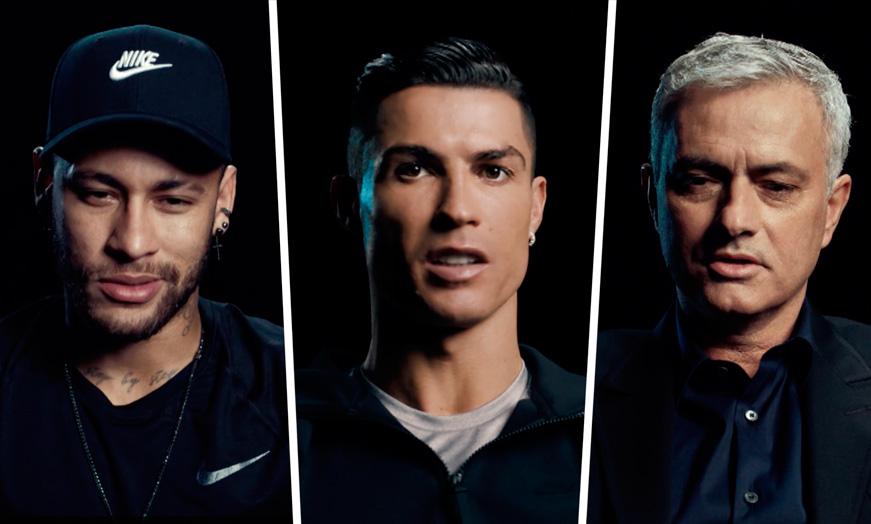 Making Off: Mourinho, Neymar Jr y Cristiano en Dazn - SportsonMedia