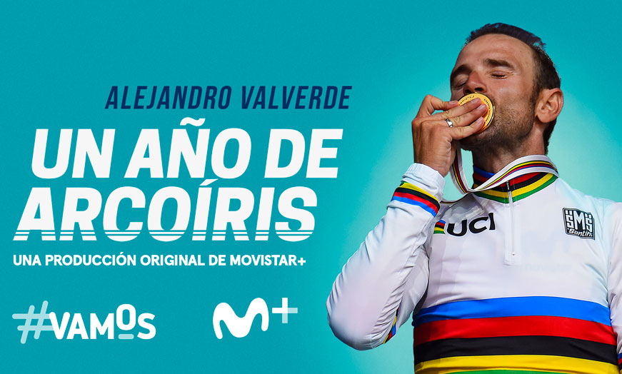 documental Alejandro Valverde, un año de arcoiris Movistar