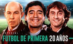 Documental Futbol de primera 20 años en Netflix recomendado por SportsonMedia