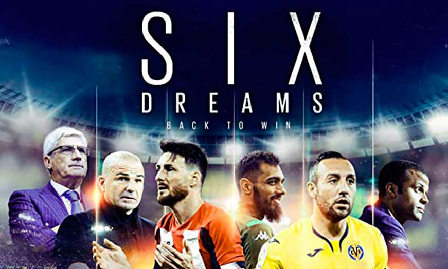 Documental Six Dreams Back to Win en Amazon recomendado por SportsonMedia