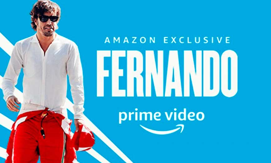 Documental Fernando Alonso en Amazon recomendado por SportsonMedia